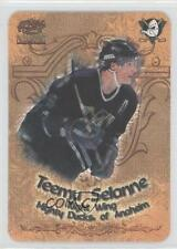 1997-98 Pacific Paramount Photoengravings #2 Teemu Selanne Hockey Card