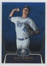 2012 Bowman Platinum Prospects Blue Refractor #BPP29 Jake Odorizzi Baseball Card