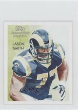 2009 Topps National Chicle Mini Back #C31 Jason Smith St. Louis Rams Rookie Card