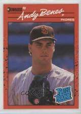 1990 Donruss #41 Andy Benes San Diego Padres Baseball Card