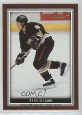 2006 Upper Deck Bee Hive 98 Teemu Selanne Anaheim Ducks (Mighty of Anaheim) Card