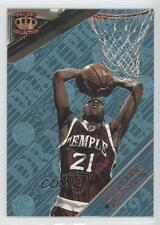 1995-96 Pacific Prism Draft Picks Platinum Blue #34 Eddie Jones Temple Owls Card