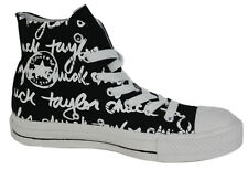 Converse Chuck Taylor All Star Black Edition Hi Top Unisex Trainers 100033F D9