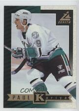 1997 Pinnacle Zenith Promo 15 Paul Kariya Anaheim Ducks (Mighty of Anaheim) Card