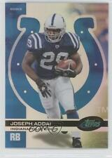 2006 eTopps #37 Joseph Addai Indianapolis Colts Rookie Football Card