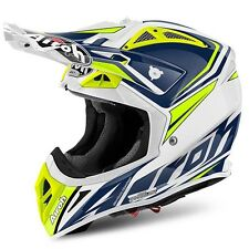 2017 Airoh Aviator 2.2 Motocross Helmet - Ready Blue