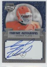 2013 Press Pass Fanfare Blue #SF Sharrif Floyd Florida Gators Auto Football Card