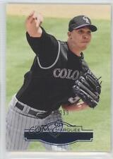 2011 Topps Marquee Blue #66 Ubaldo Jimenez Colorado Rockies Baseball Card