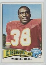 1975 Topps #43 Wendell Hayes Kansas City Chiefs Football Card