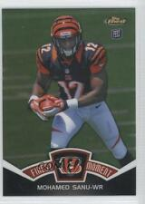 2012 Topps Finest Moments Refractor #FM-MS Mohamed Sanu Cincinnati Bengals Card
