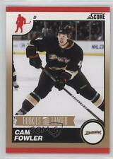 2010-11 Score Rookies & Traded Gold #562 Cam Fowler Rookie Hockey Card