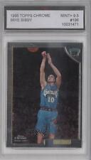 1998 Topps Chrome #196 Mike Bibby Vancouver Grizzlies RC Rookie Basketball Card