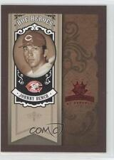 2005 Donruss Diamond Kings HOF Heroes Red Framed #HH-83 Johnny Bench Card