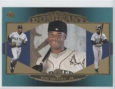 1997 Upper Deck Collector's Choice Clearly Dominant #CD1 Ken Griffey Jr Jr. Card