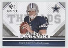 2009 SP Threads #191 Stephen McGee Dallas Cowboys Rookie Football Card