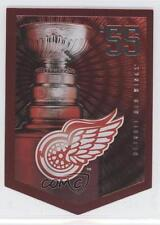 2012-13 Panini Molson Canadian Stanley Cup Collection #55 Detroit Red Wings Team