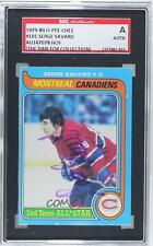 1979-80 O-Pee-Chee 101 Serge Savard AUTHENTICATED Montreal Canadiens Hockey Card
