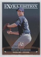2011 Donruss Elite Extra Edition Prospects #50 Taylor Guerrieri Tampa Bay Rays