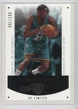 2002 SP Authentic Limited 60 Jamaal Magloire New Orleans Hornets Basketball Card
