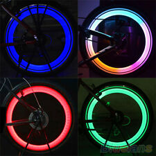 Safety Bike Bicycle Cycling Car Wheel Tire Tyre LED Spoke Light Lamp Dazzling