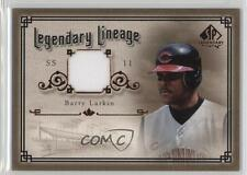 2005 SP Legendary Cuts Lineage Jerseys Memorabilia #LE-BL Barry Larkin Card
