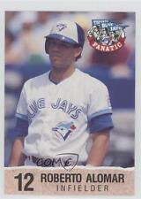 1992 Toronto Blue Jays Fire Safety #12 Roberto Alomar Baseball Card