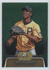 2012 Bowman Platinum Prospects Green Refractor #BPP24 Starling Marte Rookie Card