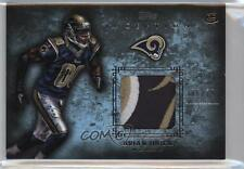 2012 Topps Inception Rookie Patch Relics Blue #RP-BQ Brian Quick St. Louis Rams