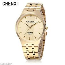 CHENXI 055B Male Quartz Watch Japan Movt Ultrathin Dial 30M Water  Wristwatch