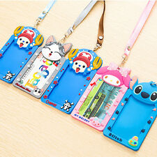 Silicone card case holder Bank Credit Card Holders Card Cover Bus ID Holders