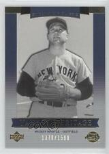 2003 Upper Deck Sweet Spot Classic #136 Yankee Heritage Mickey Mantle Card