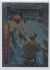 1996-97 Topps Mystery Finest Borderless #M12 Shaquille O'Neal Los Angeles Lakers