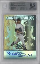 2011 Leaf Valiant Black #VA-MB2 Manny Banuelos BGS 8.5 Auto Rookie Baseball Card