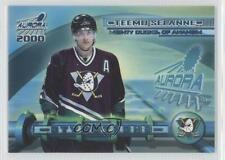 1999 Pacific Aurora Styrotechs 2 Teemu Selanne Anaheim Ducks (Mighty of Anaheim)
