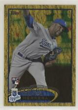 2012 Topps Golden Moments Parallel #211 Kelvin Herrera Kansas City Royals Card