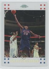 2007-08 Topps Chrome White Refractor #75 Jamaal Magloire New Jersey Nets Card