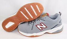 NEW Mens NEW BALANCE MX 608 SG4 Gray Red White Running Training Sneakers Shoes