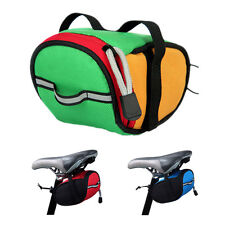 Portable Waterproof Cycling Bike Saddle Ourdoor Pouch Back Rear Seat Bag FK