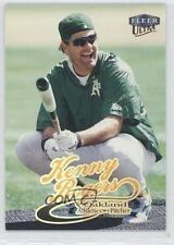 1999 Fleer Ultra #210 Kenny Rogers Oakland Athletics Baseball Card
