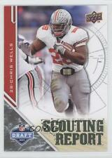 2009 Upper Deck Draft Edition Brown #201 Chris Wells Ohio State Buckeyes Card