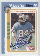 2004 Topps All-Time Fan Favorites Autographs Autographed #BJ Billy Johnson Auto