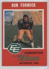 1971 O-Pee-Chee Canadian Football League #56 Ron Forwick Edmonton Eskimos (CFL)