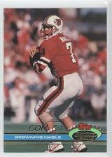 1991 Topps Stadium Club 326 Browning Nagle New York Jets Louisville Cardinals RC