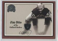 2000 Fleer Greats of the Game #70 Jim Otto Oakland Raiders Football Card