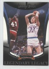 2006 Press Pass Legends Legendary Legacy #LL4 Larry Bird Indiana State Sycamores