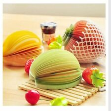 Pads Office Stationery Bookmarks Stickers Sticky Notes Fruit Vegetable Memo