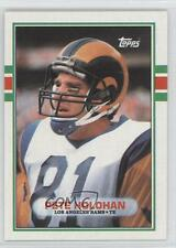 1989 Topps #124 Pete Holohan Los Angeles Rams St. Louis Football Card