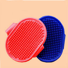 Soft Pet Rubber Grooming Massage Hair Removal Bath Brush Glove Dog Cat Hair Comb