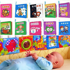 1Pcs Toy Intelligence  Book  Kid  Cloth  Infant  Animal  Cognize  Development