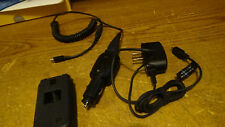 LG VERIZONLIP CELL PHONE WITH CAMERA CASE HOUSE AND CAR CHARGER MOD. NO. VX5500